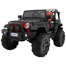 Elektromobilis RMZ Jeep All Terrain Juodas