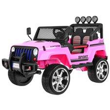 Elektromobilis RMZ NEW Raptor DRIFTER 4x4 Rožinis