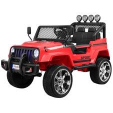 Elektromobilis RMZ NEW Raptor DRIFTER 4x4 Raudonas