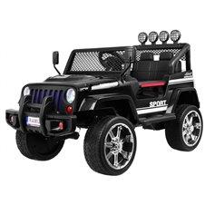 Elektromobilis RMZ NEW Raptor DRIFTER 4x4 Juodas