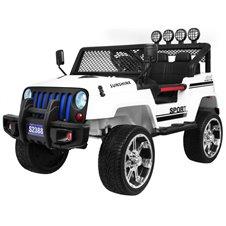 Elektromobilis RMZ NEW Raptor DRIFTER 4x4 Baltas