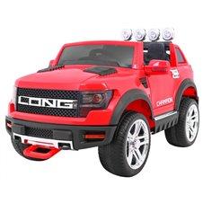 Elektromobilis RMZ Long Raudonas