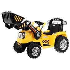 Elektromobilis traktorius RMZ Geltonas
