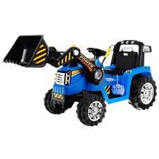 Elektromobilis traktorius RMZ Mėlynas