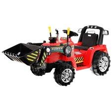 Elektromobilis traktorius RMZ Raudonas