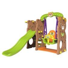 Vaikiška žaidimų aikštelė 3in1 Meškiukas