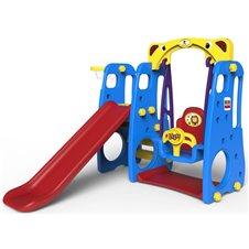 Vaikiška žaidimų aikštelė 3in1 Mėlyna