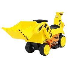 Elektromobilis traktorius su kaušu RMZ Geltonas