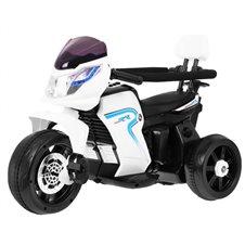 Elektromobilis motociklas RMZ 3in1 Baltas