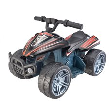 Elektromobilis keturatis RMZ Quad Little Monster Juodas
