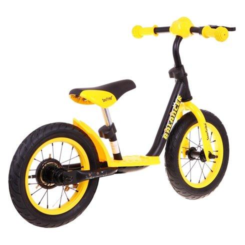 Geltonas balansinis dviratukas Sportrike Balance