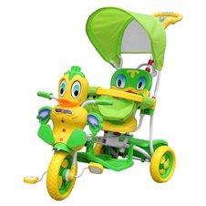 Vaikiškas žalias triratukas Ančiukas A11-2