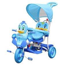 Rowerek 3 Kołowy Wesoła Kaczka A11-2 Niebieski