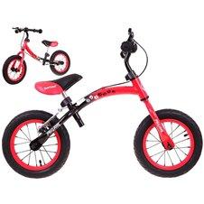 Raudonas balansinis dviratukas Boomerang