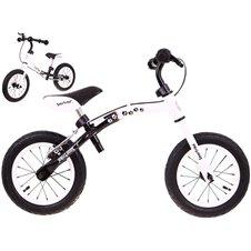 Baltas balansinis dviratukas Boomerang