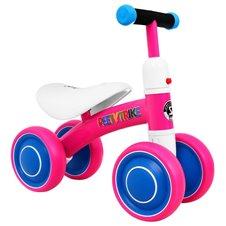 Rožinis paspiriamas keturratis dviratukas SPORTRIKE PettyTrike Z7