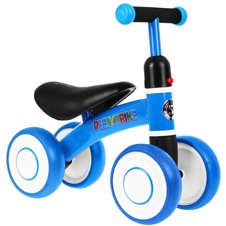 Rowerek biegowy Jeździk SPORTRIKE PettyTrike Z7 Niebieski