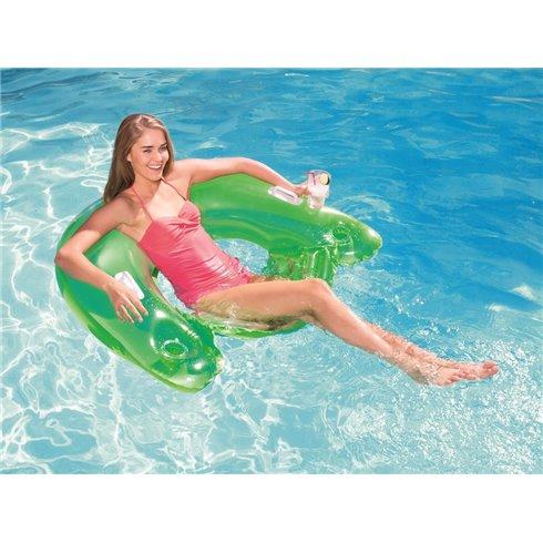 Pripučiamas plaukimo fotelis Bestway 152 x 99cm 43118