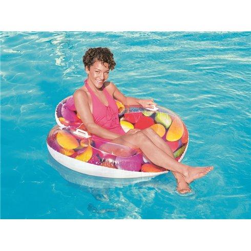 Pripučiamas plaukimo ratas Bestway 118cm  43186