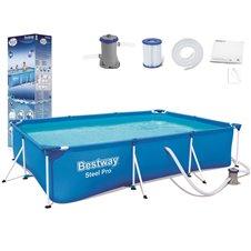 Baseinas Bestway  300x201x66cm 8in1 56411