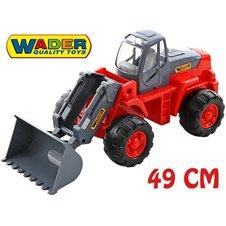 Žaislinis traktorius - ekskavatorius  Wader QT