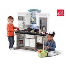 Moderni interaktyvi virtuvė su priedais Step2