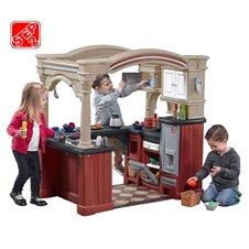 Didelė vaikiška virtuvė Step2 103 priedų