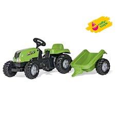 Vaikiškas minamas traktorius Rolly Toys su priekaba