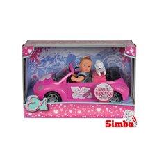 Lėlyte Evi su kabrioletu Simba