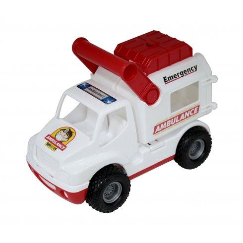 Žaislinis greitosios pagalbos automobilis ConsTruck Wader QT