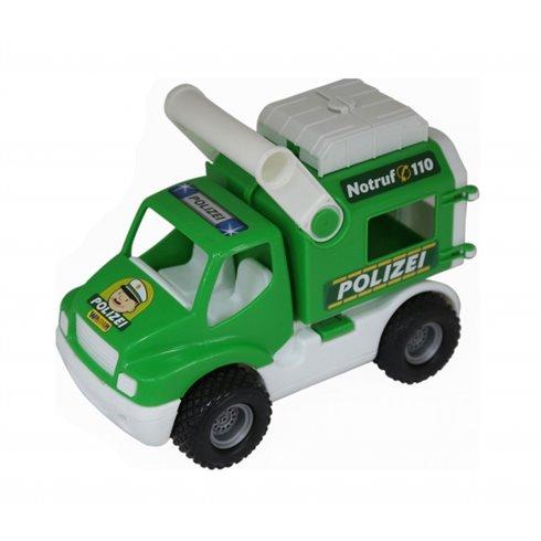 Žaislinis policijos automobilis Wader QT ConsTruck