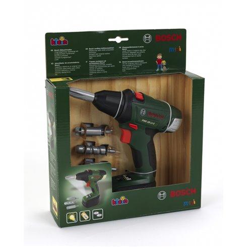 Žaislinis elektrinis atsuktuvas su 4 antgaliais Klein Bosch