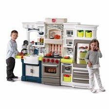 Didelė moderni vaikiška virtuvė Step2