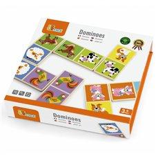 Medinis domino žaidimas Viga Toys 28 dalys