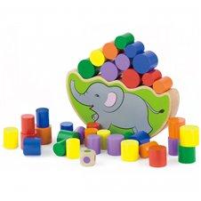 Medinis lavinamasis žaislas  Viga Toys Drambliukas