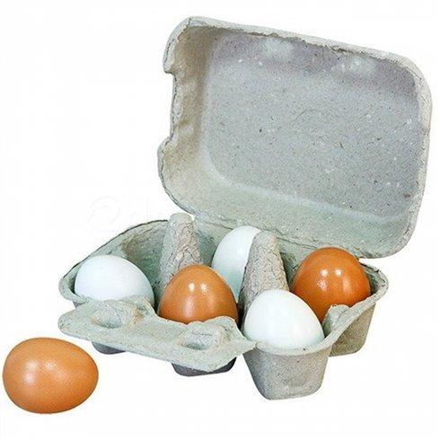 Žaisliniai mediniai kiaušiniai Viga