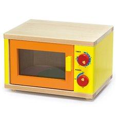 Medinė mikrobangų krosnelė  Viga Toys