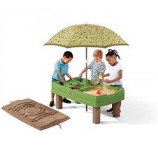 Vandens ir smėlio stalas su skečiu Step2
