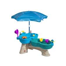 Vandens stalas su skėčiu Step2 Mėlynoji lagūna