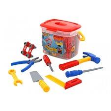 Vaikiškas įrankių rinkinys Wader 72 elementai