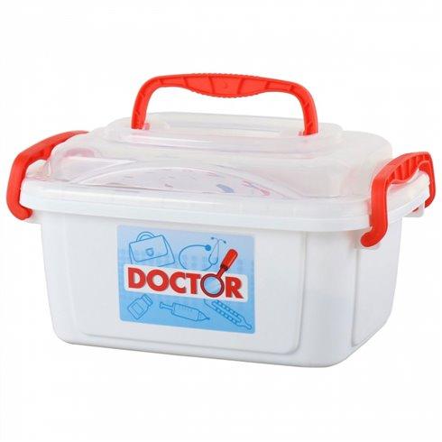 Gydytojo lagaminas su priedais Wader