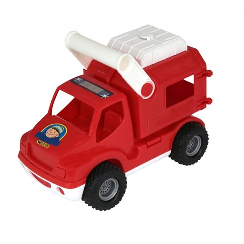 Žaislinis greitosios pagalbos automobilis  Wader QT ConsTruck