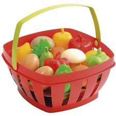 Žaislinis vaisių ir daržovių rinkinys Smoby Ecoiffier