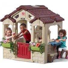 Step2 Domek Ogrodowy z Ławeczkami Dla Dzieci + bramka gratis!