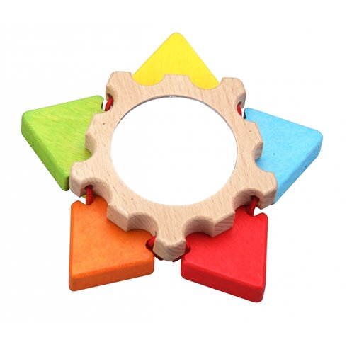 Medinis žaislas Classic World Gėlytė-veidrodėlis