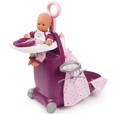 Lėlės priežiūros rinkinys Smoby Baby Nurse 3in1