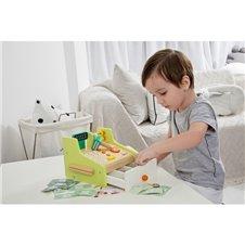 Vaikiškas medinis kasos aparatas Classic World