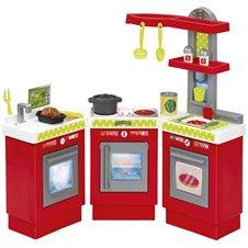 Trijų dalių žaislinė virtuvėlė Ecoffier 3 in 1