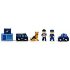 Medinės figūrėlės Viga Policija