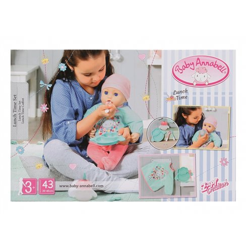 Rinkinys lėlytei Baby Annabell